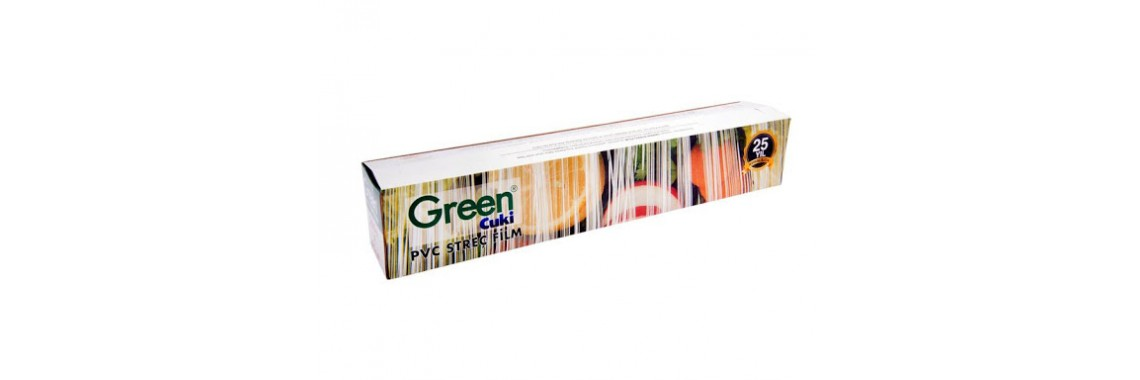 GREEN 45 * 300 MT STREÇ FİLM
